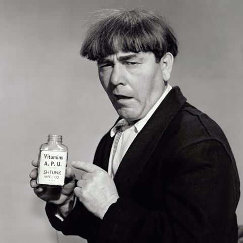Moe Howard - Never was a big fan of The Three Stooges, but Moe was a very nice man in real life.  I liked what I read about him.