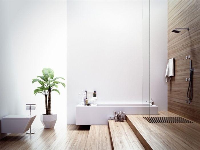 1253 best salle de bain images on pinterest - Revetement mural pour salle de bain humide ...