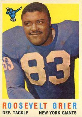 1959 Topps Roosevelt Grier