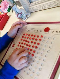 interesting multiplication board design