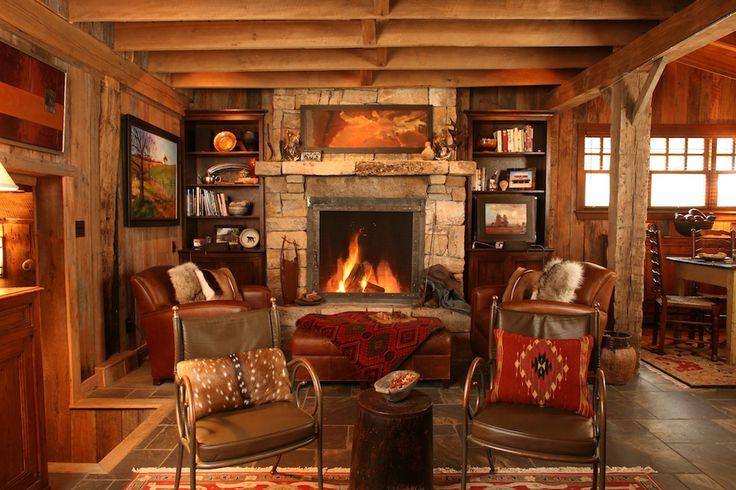 Picture perfect cabin interior