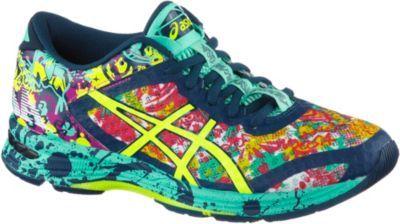 #ASICS Gel-Noosa Tri 11 Laufschuhe Damen blau/gelb/pink #Damen, #Laufschuhe, #Schuhe, #Sportschuhe,     #Modeonlinemarkt.de