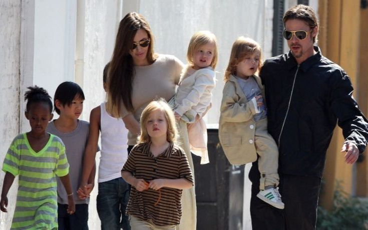 Ο ρόλος των παιδιών στο διαζύγιο των Μπραντ Πιτ και Αντζελίνα Τζόλι