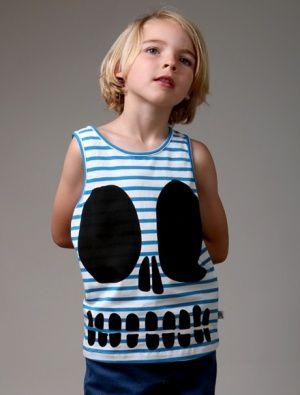 Buy Littlehorn Skull Face Tank