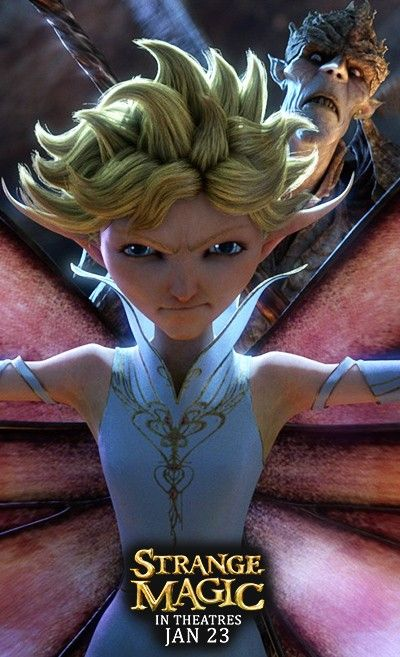 Dawn from Strange Magic - In Theatres January 23rd