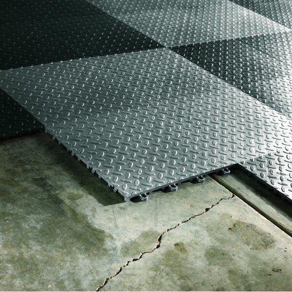 Gaft48ttps 12 X 12 Garage Flooring Tile In 2020 Garage Floor Tiles Garage Floor Coatings Vinyl Garage Flooring