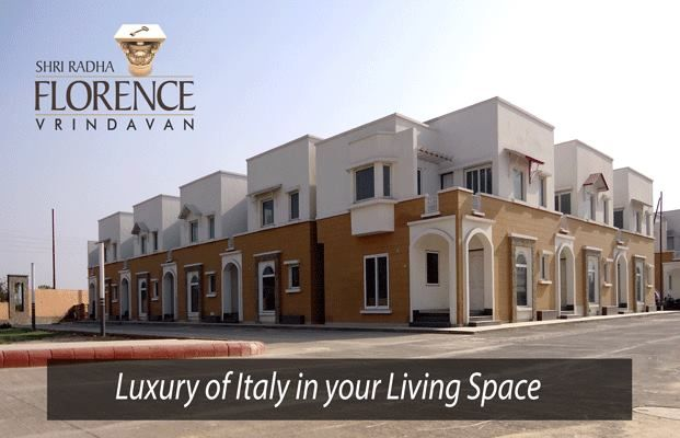 Magnificent Simplex and Duplex Villas with outstanding combination of attention to detail, quality, smart use of space and divine location in the homeland of Lord Krishna. Only at Shri Radha Florence - Vrindavan. #Shri #Radha #Florence #ShriGroup #Villas #Mathura #Vrindavan