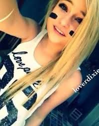 Image result for football players halloween costumes for teens with blonde hair girls