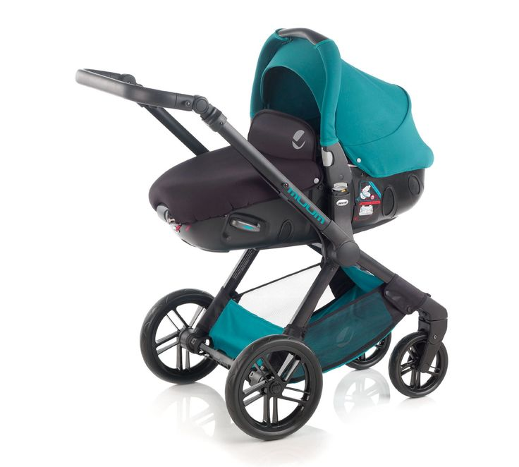 Jané Muum & Matrix Light 2 Pram & Pushchair Travel System - Peacock