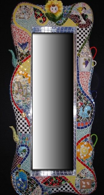 mosaic mirrors frames and more all hand made and one of a kind