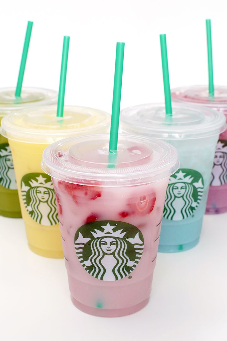 How to Taste the Starbucks Rainbow Drinks For a Fraction of the Price
