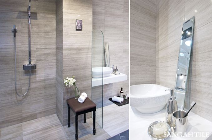 ATHENS collection!!!  #tile #tiles #sangahtile #design #interior #wall #floor #bathroom #stone #natural #space #athens #타일 #상아타일 #욕실  #바닥 #시공 #인테리어