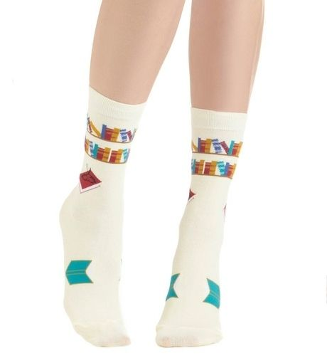 Funny socks. | 30 Things Librarians Love