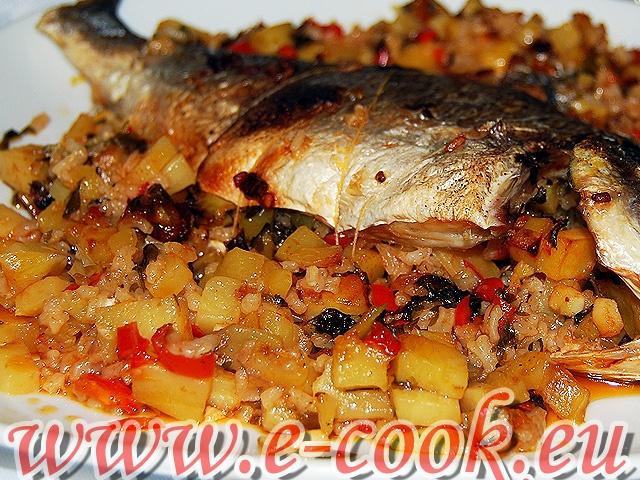 Τσιπούρες τζοέν. | www.e-cook.gr