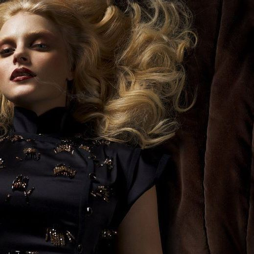 Jessica Stam, photographed by Cuneyt Akeroglu for Wonderland Magazine, February 2011