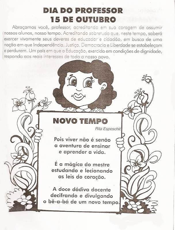 40 Atividades Para O Dia Do Professor Para Imprimir Educacao