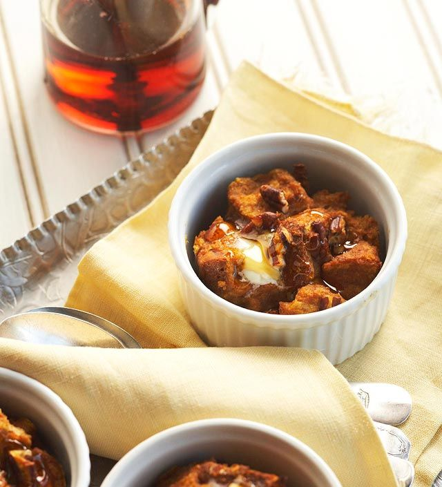 Pumpkin Breakfast Bread Puddings from the Better Homes and Gardens Must-Have Recipes App