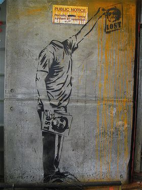 By the Megalomaniac Mr Brainwash #street art #graffiti