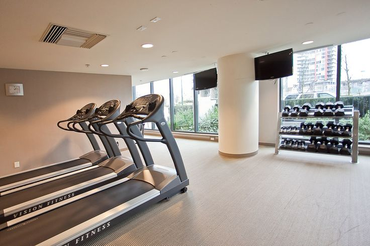 9 Smithe Mews Amenities - Fitness Center