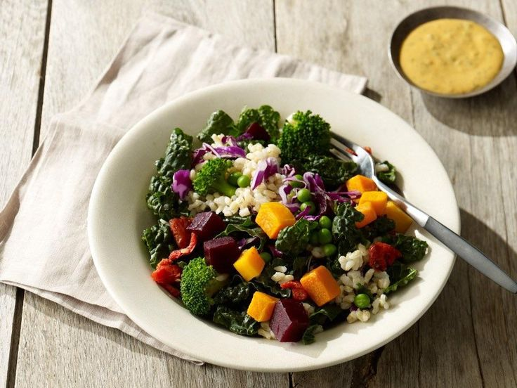 Starbucks Hearty Vegetable and Rice Bowl (430 250 without dressing!) Delicious and filling on-the-go option #goodnutrition #physicalactivity #goodfood #vegetables #JuicePlus #healthymeal #healthyfood #healthy #health #exercise #eatclean