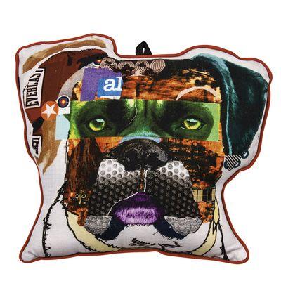 dwell - Bulldog cushion - £29