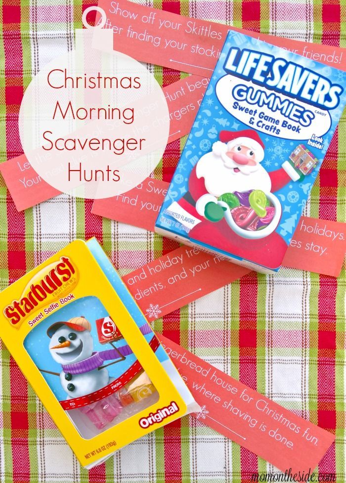 Start a new holiday tradition with Christmas Morning Scavenger Hunts for Tweens and Teens. Including Storybooks to leave a long the way!