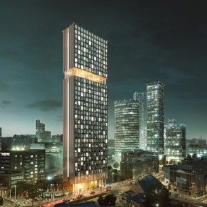 """PLP Architecture unveils """"genuinely affordable"""" co-living skyscraper for London"""