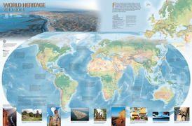 World Heritage map -UNESCO world heritage sites