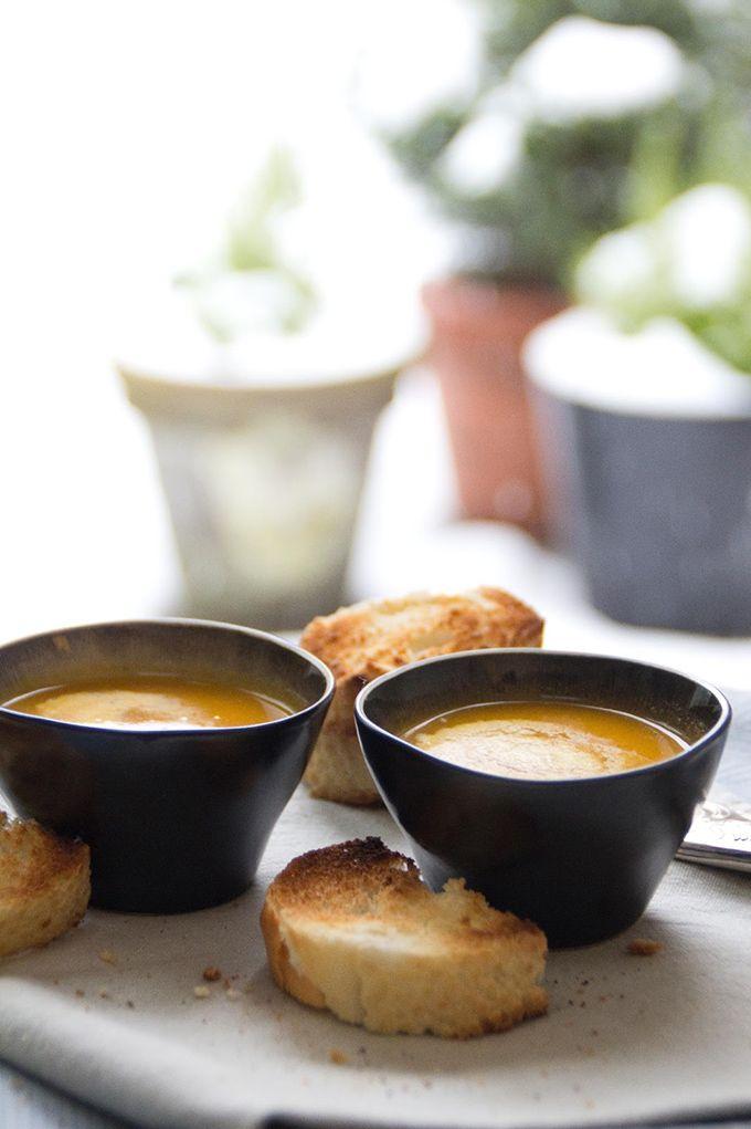 Wortel currysoep - soepen.be #vegetarisch
