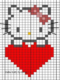 Uman oma käspaikka: Työ 39 : Hello Kitty - lapaset