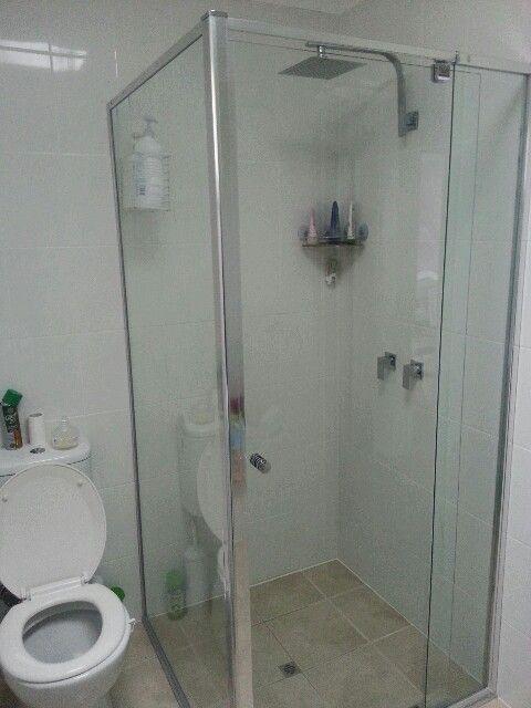 New shower! Semi frameless