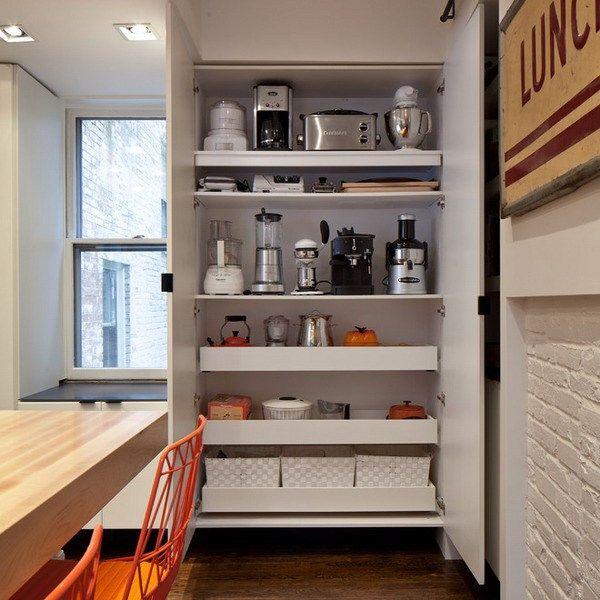 Small Kitchen Appliances Storage Ideas Kitchen Appliance Storage Organization