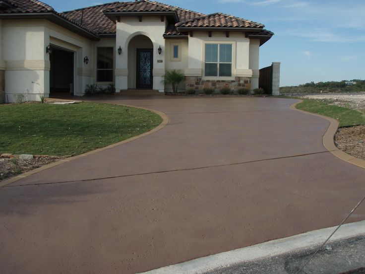 Painted Concrete Floors Outdoor