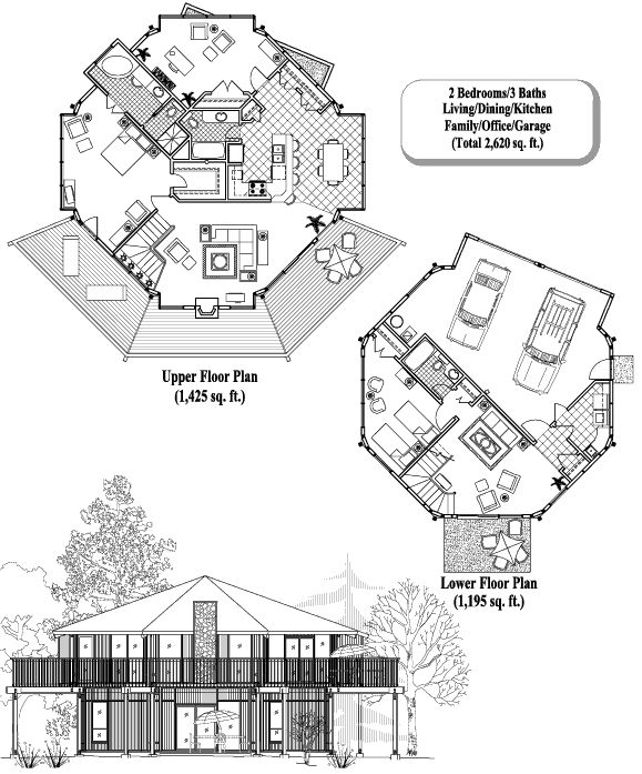 24 best images about octagonal folly on pinterest house for Octagonal building plans