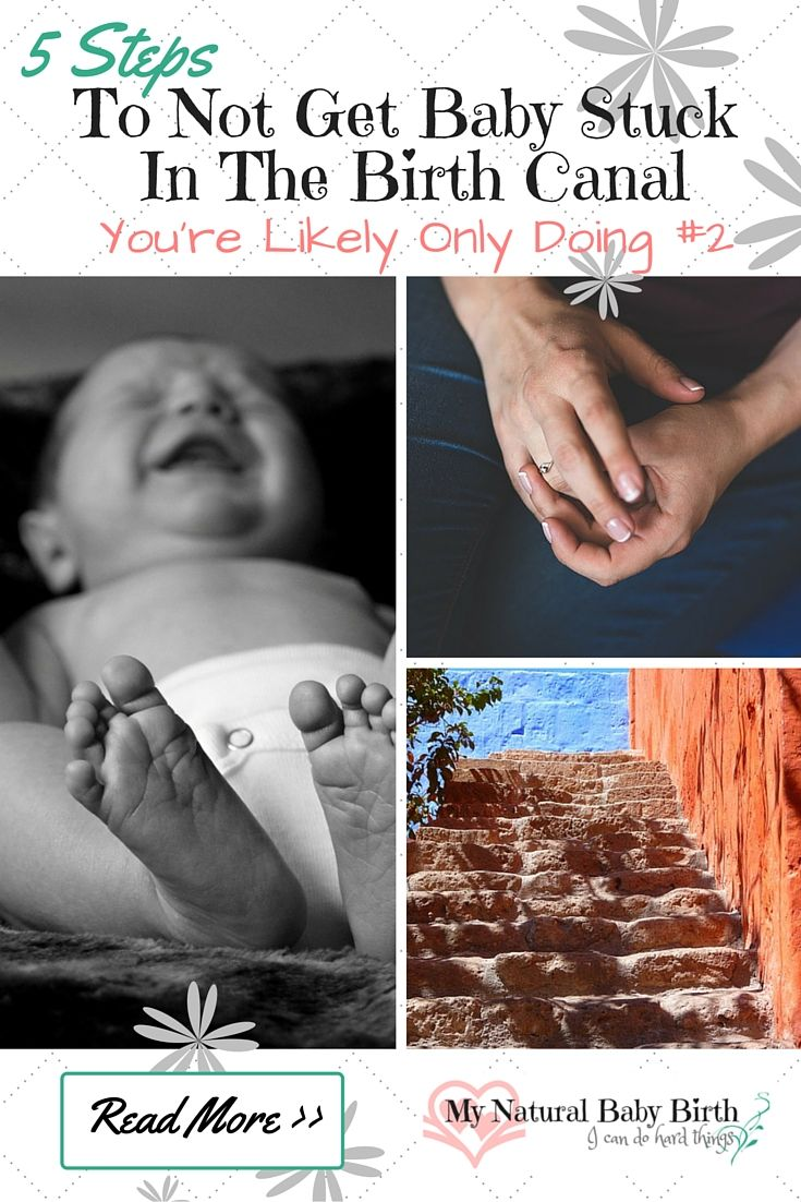 There are a myriad of reasons why your baby may seem to stop coming down your vagina during a delivery. Some of these cannot be prevented fully. But there is one single thing that will make your body work to the best of its ability to get your baby moving down and out the best way possible. http://mynaturalbabybirth.com/5-steps-to-not-get-baby-stuck-in-the-birth-canal-youre-likely-only-doing-2