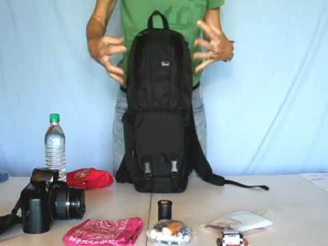 2 Two Camera Bag - Lowepro Fastpack 100: excellent for hiking, designed for 1 camera ~ My favorite bag ~http://www.youtube.com/subscription_center?add_user=tracytrends