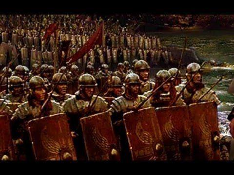 La legión romana, legionarios romanos, soldados de Roma.