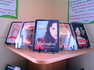 Library Displays: eBooks