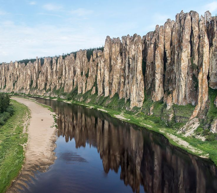 "Outta this world! ""Lenskie Stolby"", Lena river in Siberia, Russia."