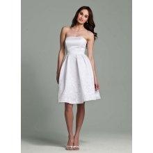 .: David Bridal, Wedding Dressses, Parties Dresses, Weddings, Receptions Dresses, Shorts Style, Shorts Wedding Dresses, Satin Dresses, Little White Dresses