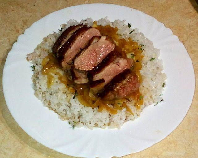 MOBILNINET.CZ: Kachní prsa na bílém víně s dušenou rýží