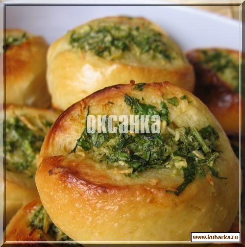 Рецепт с англоязычного блога. Очень вкусные, особенно с борщом.