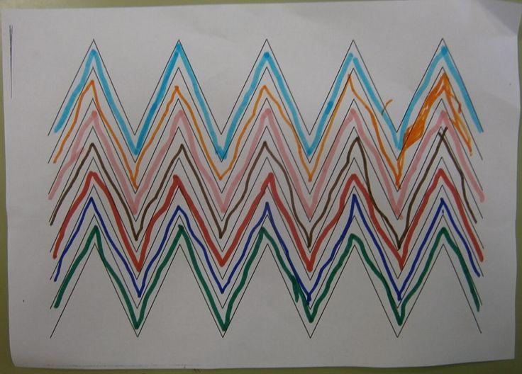LA CLASE DE MIREN: mis experiencias en el aula: TALLER DE GRAFISMO: LÍNEAS RECTAS Y CURVAS (1ª parte)