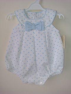 Lazos Bebés: Pelele niño                                                                                                                                                                                 Más