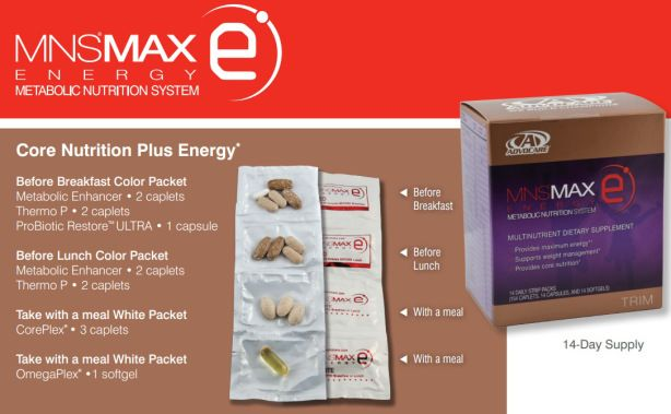 Advocare MNS Max E - The energy version of the popular Advocare MNS Max lineup. Follow these simple instructions to support maximal energy for weight loss.