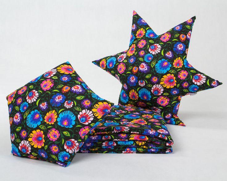Mata + Poduszki KOMPLET - Dream-zzz - Dekoracje pokoju dziecięcego