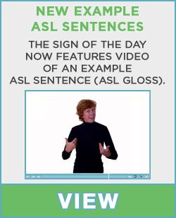 This is a website to help you learn sign language. Sign language is a form of nonverbal communication.