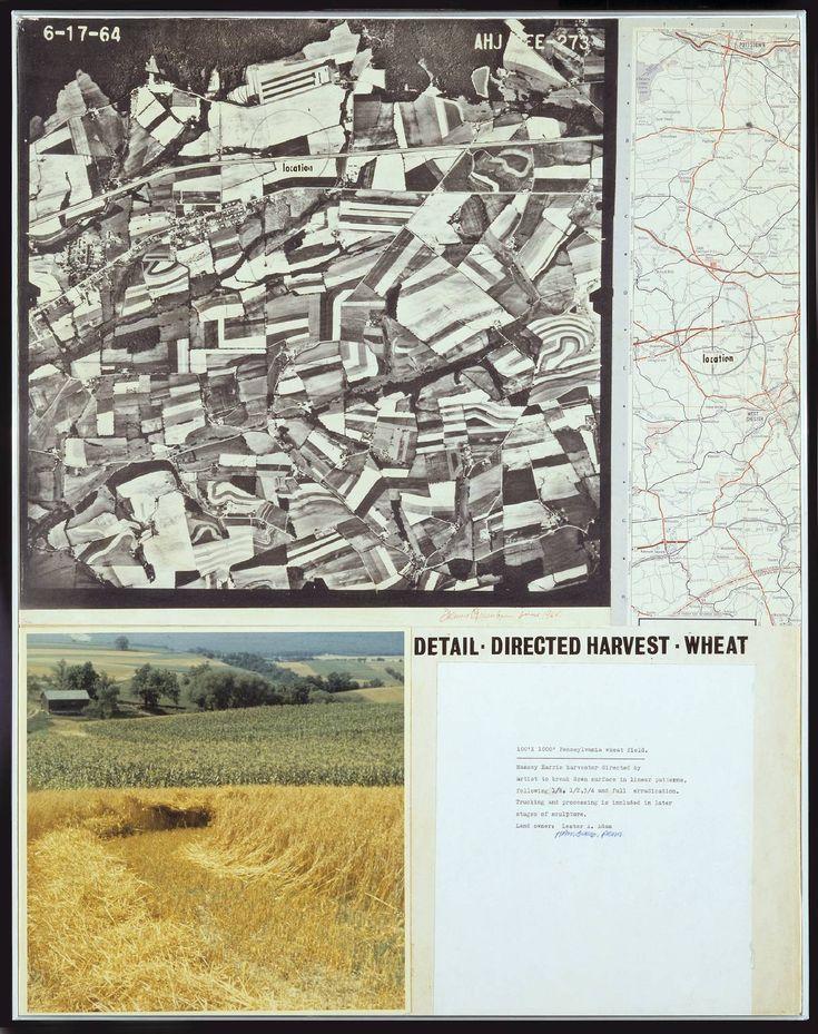 Dennis Oppenheim 'Directed Harvest', 1966 © Dennis Oppenheim