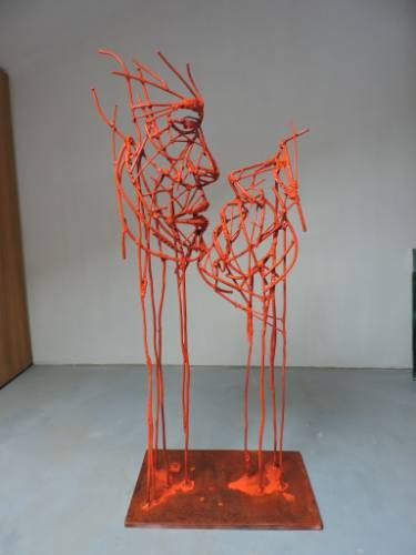 "Saatchi Art Artist Michele Rizzi; Sculpture, ""Love beyond time"" #art"