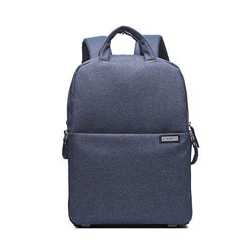 Caden+Professional+Camera+Bag+Multifuction+WaterProof+Shockproof+Backpack+Laptop+Bag+Padded+Insert+For+Sony+Canon+Nikon+Olympus+Kodah+Pentax+Panasonic+DSLR/SLR+for+Men/Women+for+Iphone+6(Drak)